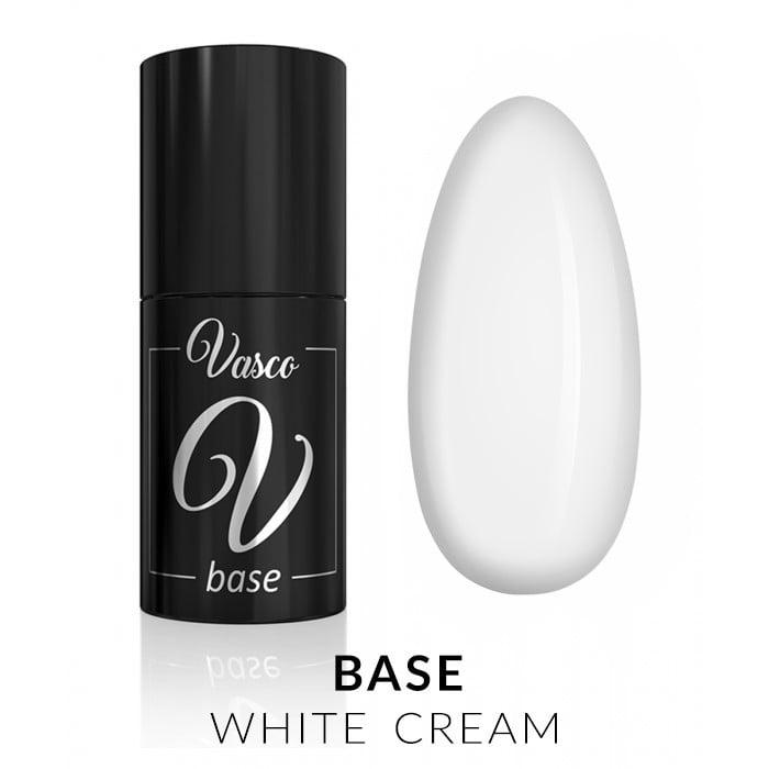 Vasco Base White Cream 6ml baza trajni lak