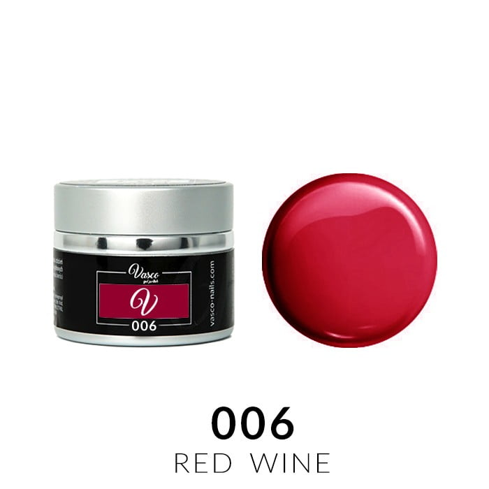 Vasco Paint Gel 006 Red Wine 5g