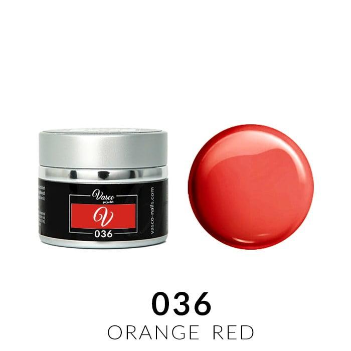 Vasco Paint Gel 036 Orange Red 5g