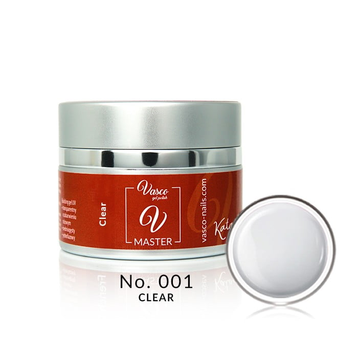 Vasco gradivni gel Master Clear 50g