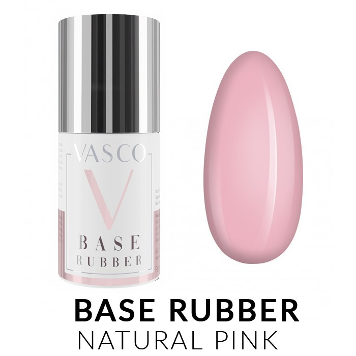 Vasco Base Rubber Natural Pink 6ml