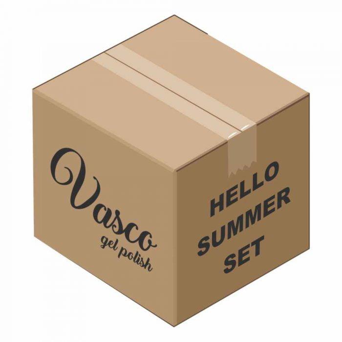 Vasco Set Hello Summer trajni lakovi