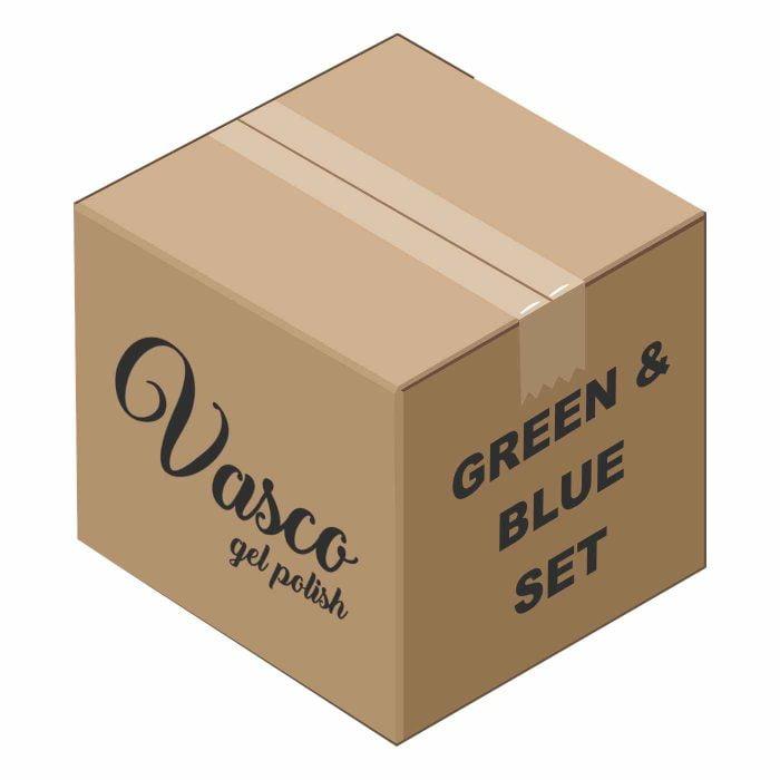 Vasco set Green and Blue 1