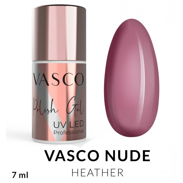 Vasco Nude Heather ružičasti nude trajni lak