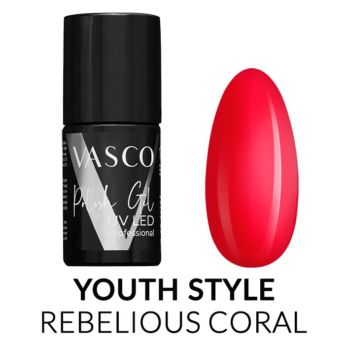 Vasco V67 svijetlo crveni gel lak
